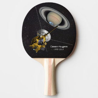 Cassini Huygens at Saturn Ping Pong Paddle