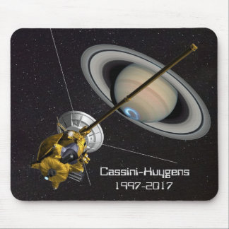 Cassini Huygens Mission to Saturn Mouse Pad