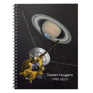 Cassini Huygens Mission to Saturn Notebooks