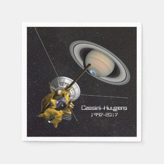 Cassini Huygens Mission to Saturn Paper Napkin