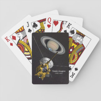 Cassini Huygens Mission to Saturn Playing Cards