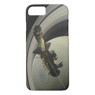 Cassini Spacecraft Mission at Saturn iPhone 8/7 Case