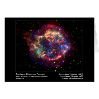 Cassiopeia A Supernova Remnant–Chandra X-ray Obser Card