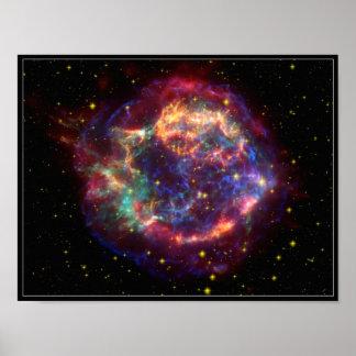 Cassiopeia Constellation Poster