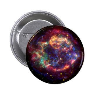 Cassiopeia Galaxy Supernova remnant 2 Inch Round Button
