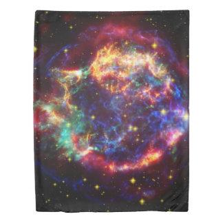 Cassiopeia Galaxy Supernova remnant Duvet Cover