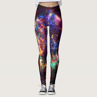 Cassiopeia Galaxy Supernova remnant Leggings