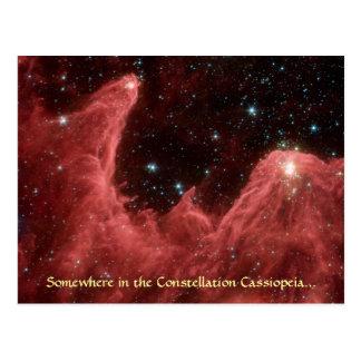 Cassiopeia Nebula - Postcard #1