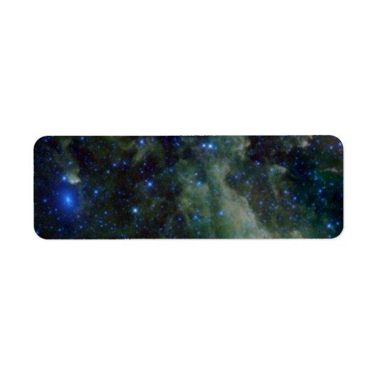 Cassiopeia nebula within the Milky Way Galaxy