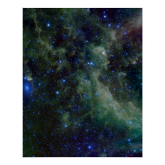 Cassiopeia nebula within the Milky Way Galaxy Perfect Poster