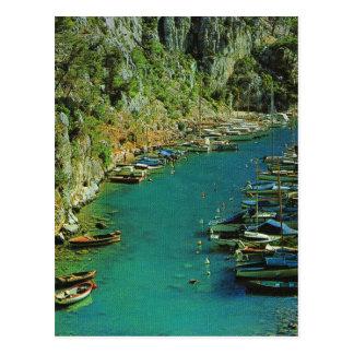 Cassis, Cote d'Azur Postcard