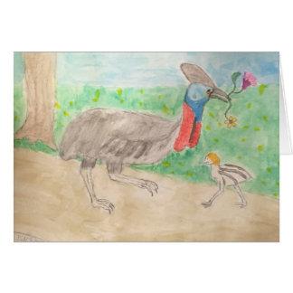 cassowary card