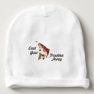 Cast Your Troubles Away Baby Beanie