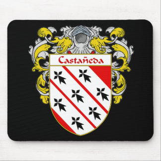 Castaneda Coat of Arms Mousepads