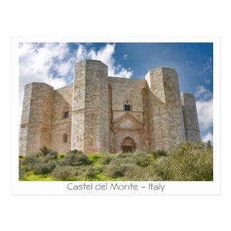 Castel del Monte Postcard