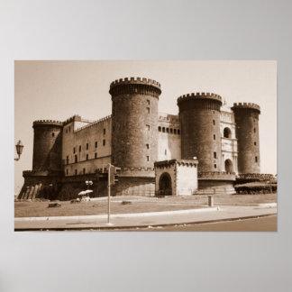 Castel dell'Ovo Poster