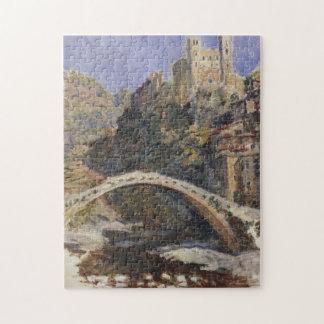 Castel Dolce Monet Fine Art Jigsaw Puzzle