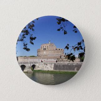 Castel Sant Angelo 2 Inch Round Button