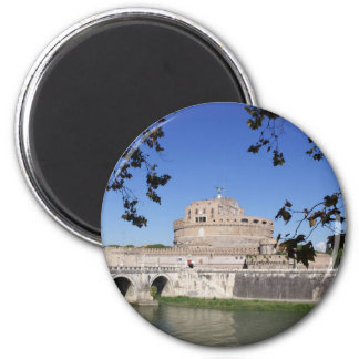 Castel Sant Angelo 2 Inch Round Magnet