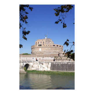 Castel Sant Angelo Personalized Stationery