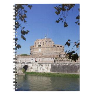 Castel Sant Angelo Spiral Notebook