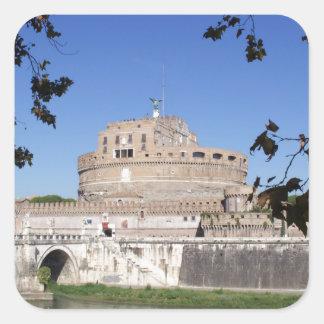 Castel Sant Angelo Square Sticker