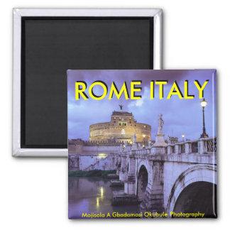 Castel Sant'Angelo and Bridge, Rome, Italy Magnet