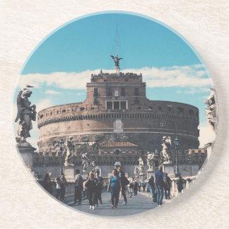 Castel Sant'Angelo Beverage Coasters