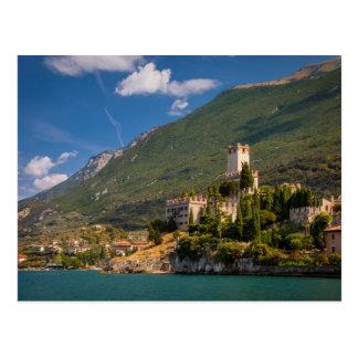 Castel Scaligero Postcard