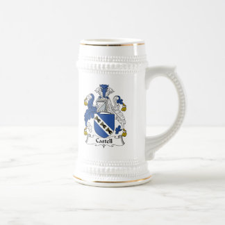 Castell Family Crest Beer Stein