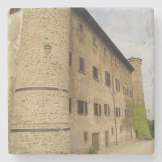 Castello 1, Tuscany Stone Beverage Coaster