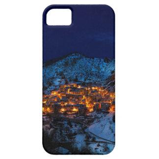 Castelmezzano Italy At Night iPhone 5 Cover