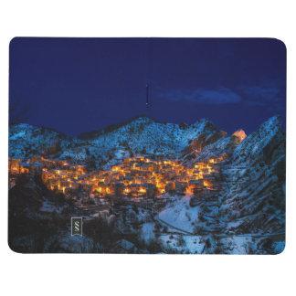 Castelmezzano, Italy - Snowy Winter Night Journal