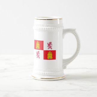 Castile And Leon Flag Mug