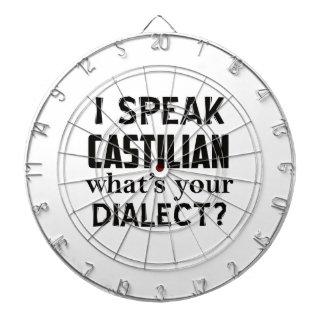 Castilian language designs dartboard