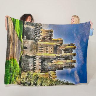 Castillo De Butron, Spain Acrylic Art Fleece Blanket