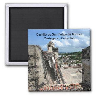 Castillo de San Felipe de Barajas Cartagena 1 Magnet