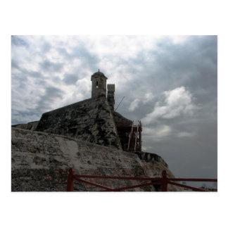 Castillo de San Felipe de Barajas Cartagena, Colom Postcard