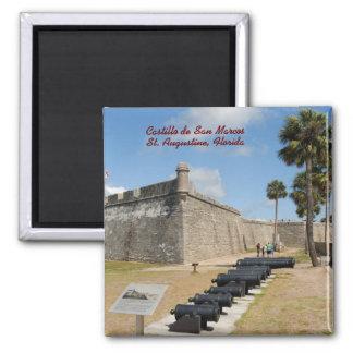 Castillo de San Marcos Square Magnet