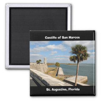 Castillo de San Marcos, St. Augustine... Refrigerator Magnets