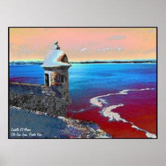 Castillo El Morro -1 Poster