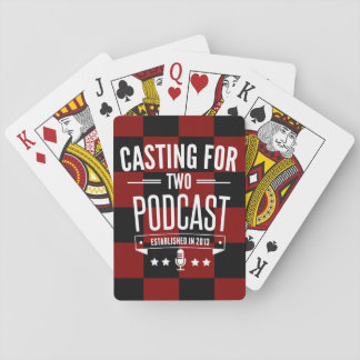 Casting for Two Playing Cards