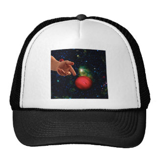 CASTING WORLDS (Hand of God series) (space) ~ Trucker Hat