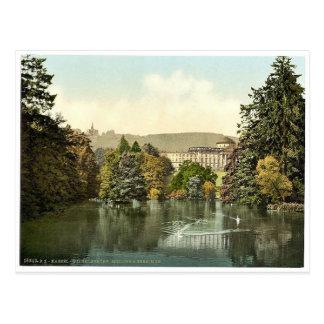 Castle and Hercules, Wilhelmshohe, Cassel (i.e., K Postcard