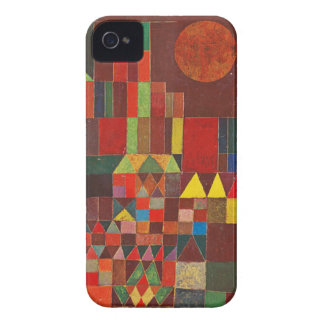 Castle and Sun, Paul Klee Expressionism Figurative iPhone 4 Cover