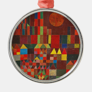 Castle and Sun, Paul Klee Expressionism Figurative Metal Ornament