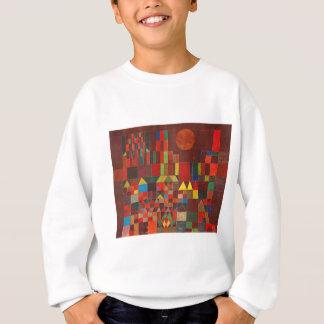 Castle and Sun, Paul Klee Expressionism Figurative Sweatshirt