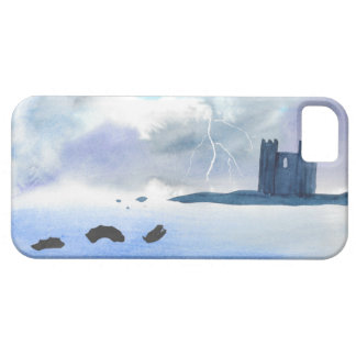 Castle By the Sea iPhone 5 Cases