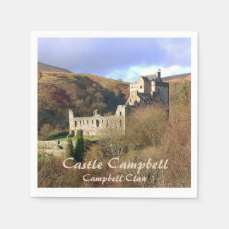Castle Campbell – Campbell Clan Napkin