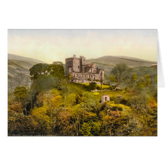 Castle Campbell Scotland Card
